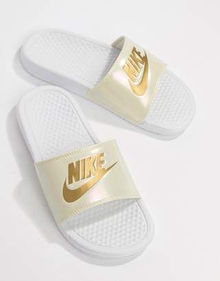eec54d81b1c4 Nike White Sandals For Women - ShopStyle Australia