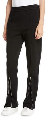 Joseph Loopback Zip-Cuff Track Pants
