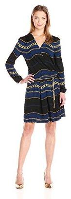 Juicy Couture Black Label Women's Royal Windsor Matte Jersey Dress $84.73 thestylecure.com
