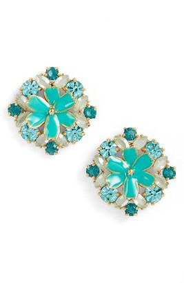 Women's Kate Spade New York Here Comes The Sun Crystal Stud Earrings $68 thestylecure.com