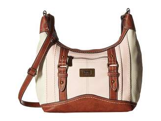 b.ø.c. Fairview Solid PB Crossbody Shoulder Handbags
