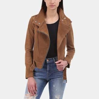 Mackage Hania Moto Suede Jacket