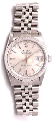 Rolex Datejust 16234 Silver Dial Stainless Steel Jubilee Band 36mm Mens Watch