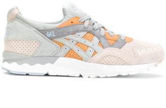 Asics contrast lace up trainers $151.63 thestylecure.com