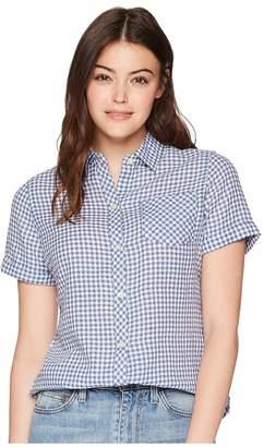 Woolrich Northern Hills Short Sleeve Shirt Women's Short Sleeve Button Up