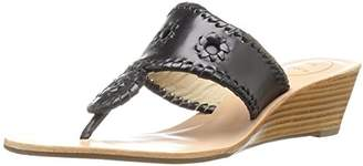 Jack Rogers Women's Mid Wedge Stacked Sandal