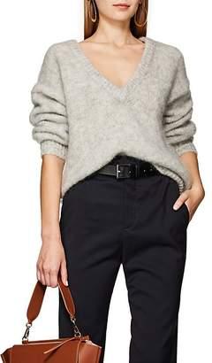 LES COYOTES DE PARIS Women's Jip Mohair-Blend V-Neck Sweater