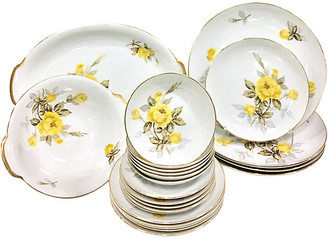 One Kings Lane Vintage Japanese Porcelain Dinnerware - 24 Pcs - Jacki Mallick Designs