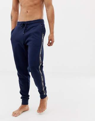 346b24fb Blue Tommy Hilfiger Mens Logo Joggers Clothing