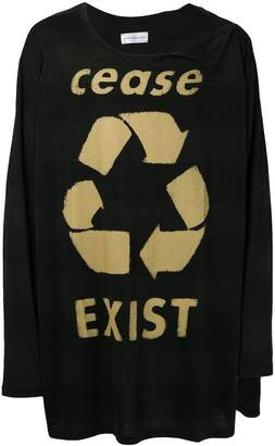 Faith Connexion Cease Exist T-shirt