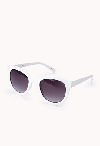 Forever 21 F5502 Retro Cat-Eye Sunglasses