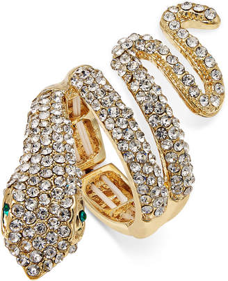 Thalia Sodi Gold-Tone Pavé Drama Ring, Created for Macy's