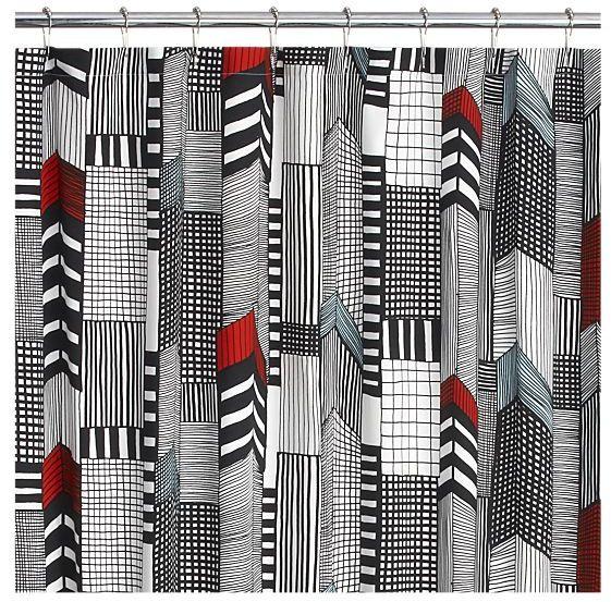 Marimekko Ruutukaava Shower Curtain