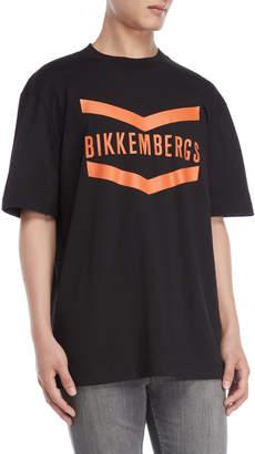 Bikkembergs Black Graphic Tee