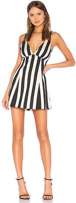 LPA Deep V Dress