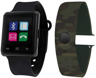 ITOUCH Itouch Air Interchangeable Band Set Black / Camo Unisex Multicolor Smart Watch-Jcp5552b724-Bca