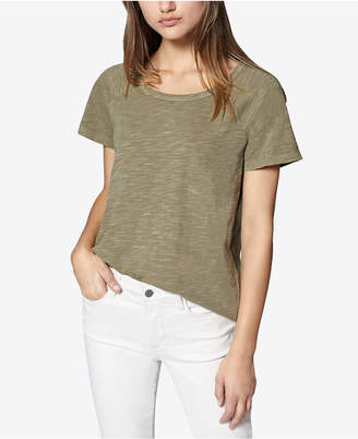 Sanctuary Cotton Scoop-Neck T-Shirt
