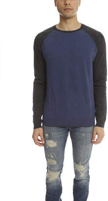 Vince Cotton Cashmere Colorblock Sweater