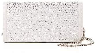 Giuseppe Zanotti Cam Crystal-Embellished Suede Convertible Crossbody