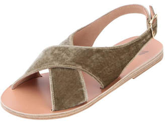 Ancient Greek Sandals Maria Velvet Sandals