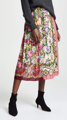 Tata-Naka Tata Naka Box Pleat Skirt