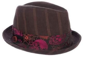 Goorin Bros. Satin-Trimmed Fadora Hat