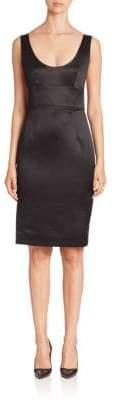 Milly Duchess Satin Dress
