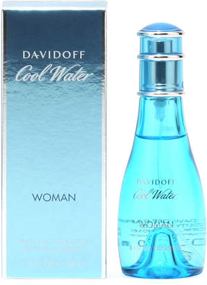 Davidoff Cool Water for Ladies Eau de Toilette Spray, 1.7 oz./ 50 mL