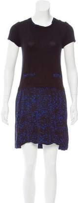 Comptoir des Cotonniers Printed Mini Dress