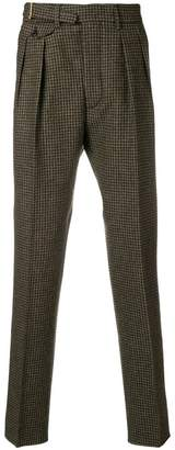 Lardini houndstooth trousers