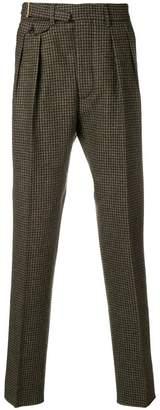 Lardini houndstooth trousers