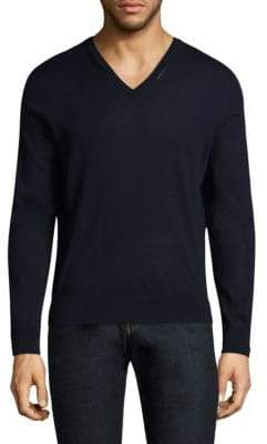 The Kooples Long-Sleeve Wool Sweater