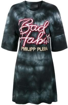 Philipp Plein Bad Habits T-shirt dress