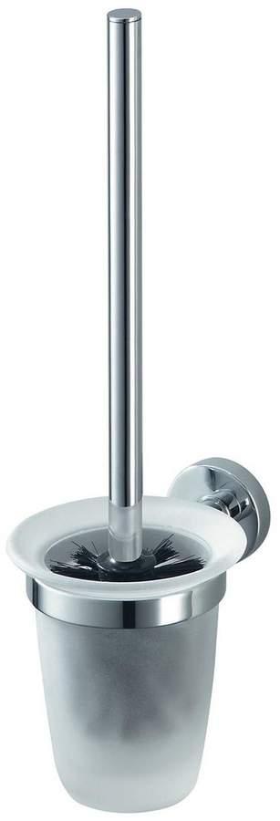 Kosmos Wall-Mounted Toilet Brush Holder - Chrome