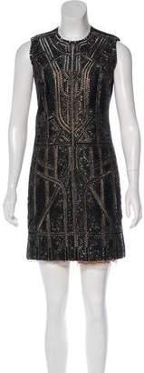 Kaufman Franco KAUFMANFRANCO Embellished Mini Dress