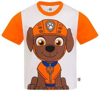 Paw Patrol Boys Kids Character T-Shirt Rocky Chase Rubble 6-7 years
