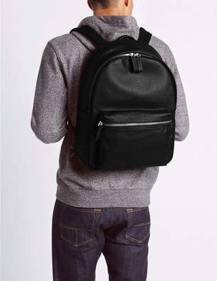 Marks and Spencer Textured Saffiano Rucksack