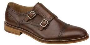 Johnston & Murphy Conrad Double Buckle Monk Strap