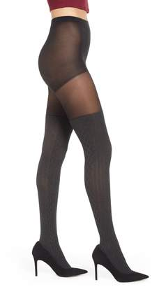 Pretty Polly Marled Over the Knee Sock Tights