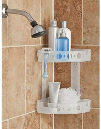 Mainstays Corner Shower Caddy, Frosted