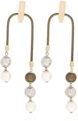 Lanvin Faux Pearl Earrings