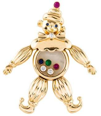 Chopard 18K Multistone Happy Clown Pendant