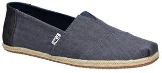 Toms Men's Classic Coated Linen Rope Ankle-High Canvas Flat Shoe - 8.5M