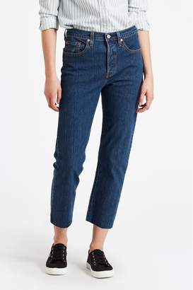 Levi's Womens 501 Crop Jean - Blue