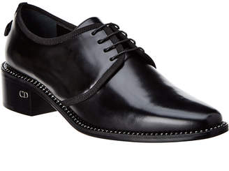 Christian Dior Lace-Up Leather Derby