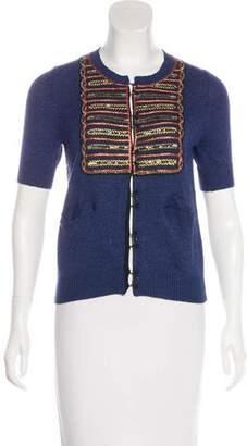 3.1 Phillip Lim Embellished Wool-Blend Cardigan