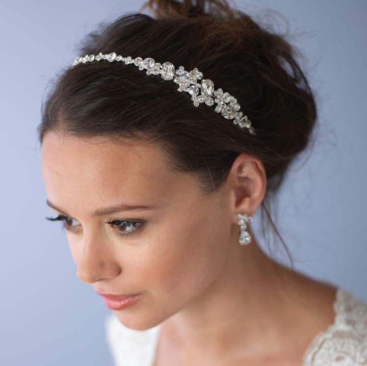 Etsy Vintage Wedding Headband, Rhinestone Bridal Headband, Bridal Hair Accessory, Bridal Headpiece, Weddi