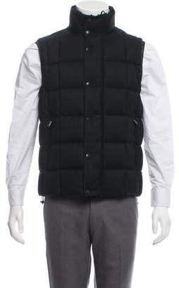 Moncler Tenay Wool Puffer Vest w/ Tags