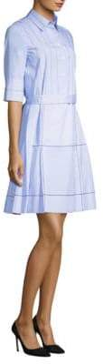 Piazza Sempione Pleated Shirt Dress