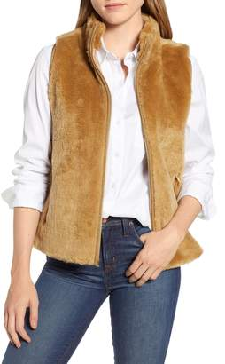 J.Crew Factory Plush Fleece Excursion Vest